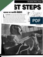 Guitar Jazz Lesson 1