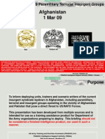 Afghan Insurgent Groups - 09