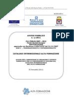 Avviso Pubblico_ Catalogo Inter Region Ale Alta Formazione[1]