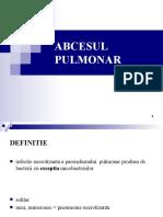 5. ABCESUL  PULMONAR