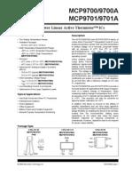 Datasheet MCP9700