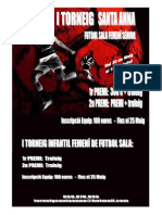 Cartell Femeni Futbol Sala 2011