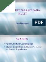 Infeksi Parasit ( Lina D, Dr., SpKK)