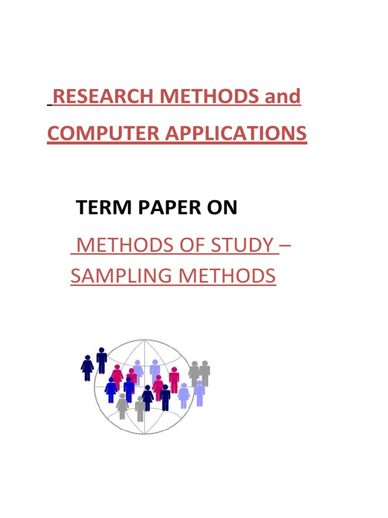 methodology political science research paper