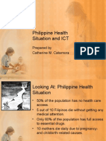 Philippine Health Situation and ICT