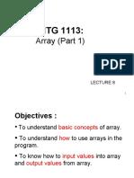 C++ Array Part1 1