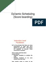9.Dynamic Scheduling (Score Boarding)