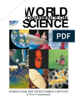 UNESCO SCIENCE FOR THE TWENTY-FIRST CENTURY A New Commitment 2000