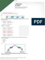 CCNA Exploration 1_ Network Fundamentals - Final Exam _1_25