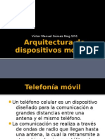 Arquitectura de dispositivos móviles