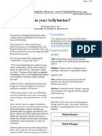 What's Living in Your Bellybutton