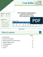 COAL India - Company Report - Enam Direct - 29042011