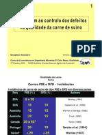 Qualidade carne suíno defeitos 2004 pork meat quality defects