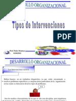 Guia Numero 2 Tipos de Intervenciones Desarrollo Organizacional