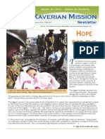 Xaverian Mission Newsletter May 2011
