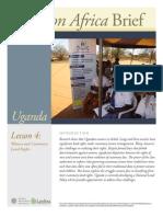Uganda Lesson 4 Brief