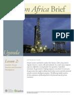 Uganda Lesson 2 Brief