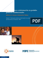 MEF Guía de Acceso a info pública - MEF