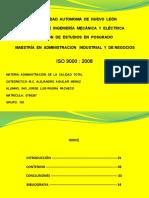 Investigacion ISO 9000
