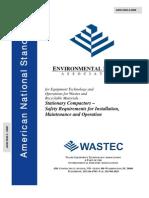 University Standards ANSI Z245.2Install-Operation-2008