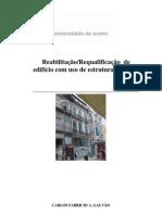 Projeto de Reabilitação e Rqualificação em Aço cidade do Porto
