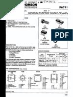 Ua741 Datasheet