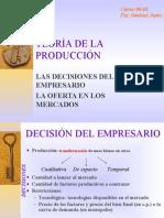 Teoría de la Produccion
