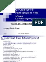 Guida Elezioni Degli Organi Collegiali Territoriali