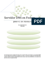 Servidor DNS en Fedora9