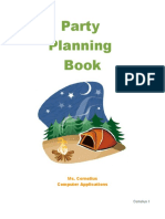 Sample-Party Planning Book