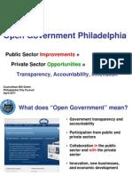 Open Gov Phila -- Final Slides
