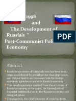 The Roots of the August 1998 Crisis