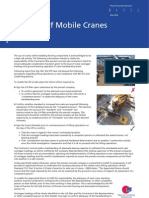 PFF Health & Safety Guidance Note - Stability of Mobile Cranes - June 09