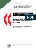 Housing Market - Ocde