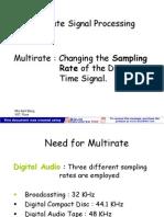 Multirate Signal Processing
