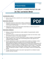 Ss Number Protection Law Business