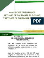 Beneficios Tributarios 2011