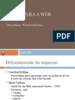 Texto para a Web
