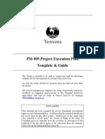 Pman Temp Open Proj Exec Plan