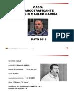 Walid Mackel García Narcotraficante