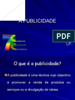 CARACTERISTICAS DA PUBLICIDADE