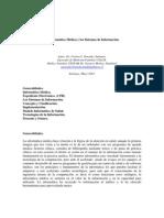 Informática médica y los sistemas de información