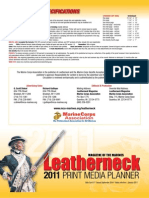 Leatherneck 2011 Print Rates