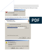 Errors in Installing Xming