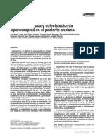Colecistitis aguda y colecistectomía laparoscópica en el paciente anciano