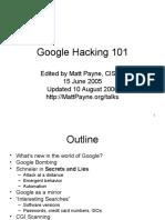 Google 101