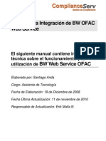 CS - OFAC Web Service - Manual Técnico