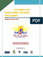 Plan Estrategico de Desarrollo Juvenil 2011-2020 Cundinamarca