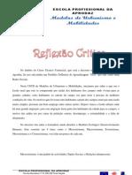 PRA de Modelos de Urbanismo e Mobilidades Feita