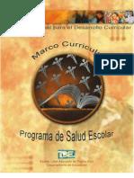 Marco Curricular Del Programa de Salud Escolar